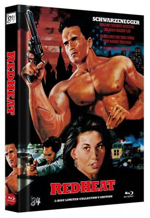 Red Heat (Limited Mediabook, Blu-ray+DVD, Cover C) (1988) [FSK 18] [Blu-ray] [Gebraucht - Zustand (Sehr Gut)]