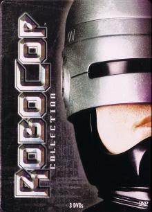 Robocop 1-3 (3 DVDs Steelbook, Uncut) [FSK 18]