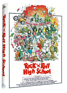 Rock n Roll Highschool (Limited Mediabook) (1979) [Blu-ray]