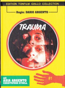 Aura - Trauma (Limited Mediabook, Blu-ray+DVD, Cover B) (1993) [FSK 18] [Blu-ray]