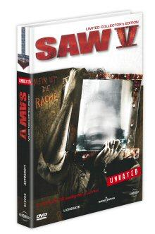Saw V (Unrated, Limited Collector's Edition, 2 DVDs) (2008) [FSK 18]