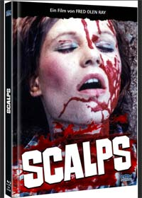 Scalps (Limited Mediabook, Blu-ray+DVD, Cover B) (1983) [FSK 18] [Blu-ray]