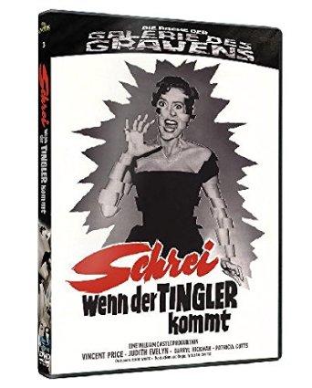 Schrei, wenn der Tingler kommt - Die Rache der Galerie des Grauens 3 (Limited Edition, Blu-ray+DVD) (1959) [Blu-ray]