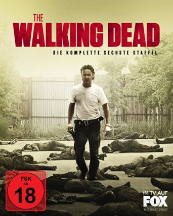 The Walking Dead - Die komplette sechste Staffel (Uncut) [FSK 18] [Blu-ray]
