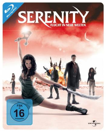 Serenity (Steelbook) (2005) [Blu-ray]
