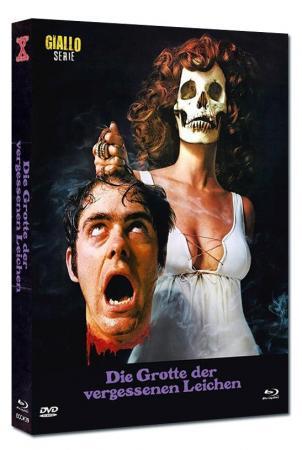 Die Grotte der vergessenen Leichen (Limited Mediabook, Blu-ray+DVD, Cover B) (1971) [FSK 18] [Blu-ray]