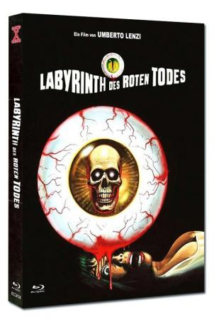 Labyrinth des roten Todes (Limited Mediabook, Blu-ray+DVD, Cover B) (1975) [FSK 18] [Blu-ray]