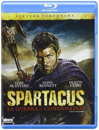Spartacus - War of the Damned (Die komplette 3 Staffel, Uncut) [FSK 18] [EU Import mit dt. Ton] [Blu-ray]