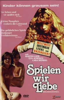 Maladolescenza - Spielen wir Liebe (Große Hartbox, Cover B) (1977) [FSK 18] [Gebraucht - Zustand (Gut)]