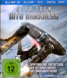 Star Trek Into Darkness (2013) (3D Blu-ray + Blu-ray + DVD + Digital Copy) [3D Blu-ray]