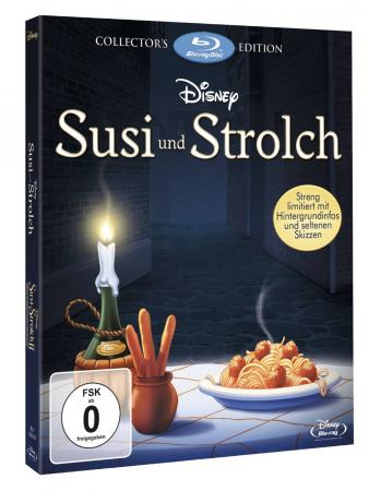 Susi und Strolch / Susi und Strolch 2 - Kleine Strolche, großes Abenteuer (2-Disc Collector's Edition) [Blu-ray]