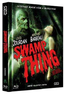 Das Ding aus dem Sumpf (Limited Mediabook, Blu-ray+DVD, Cover C) (1982) [Blu-ray]