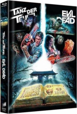 Tanz der Teufel/Evil Dead (4 Disc Limited Mediabook) [FSK 18] [Blu-ray]