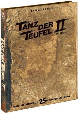 Tanz der Teufel 2 (1987) (25th Anniversary 3 Disc Mediabook Edition/Extended Cut, Blu-ray + DVD) [FSK 18] [Blu-ray] [Gebraucht - Zustand (Sehr Gut)]