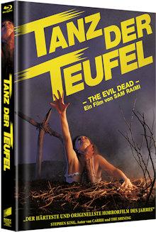 Tanz der Teufel (3 Disc Limited Mediabook, Cover A) (1982) [FSK 18] [Blu-ray]