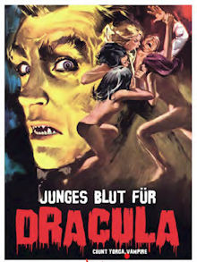 Junges Blut für Dracula (Limited Mediabook, Blu-ray+DVD, Cover C) (1970) [Blu-ray]