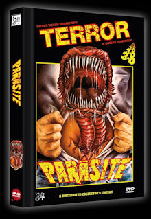 Killerparasit (2 Disc Limited Mediabook, Cover B) (1982) [FSK 18]
