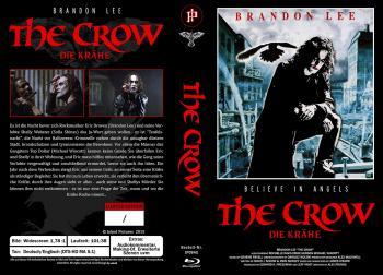 The Crow - Die Krähe (Große Hartbox, Limitiert auf 45 Stück, Cover G) (1994) [FSK 18] [Blu-ray]