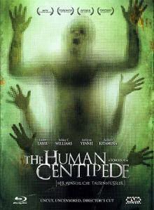 Human Centipede - Der menschliche Tausendfüßler (3 Disc Limited Mediabook, Blu-ray+DVD, Uncut) (2009) [FSK 18] [Blu-ray] [Gebraucht - Zustand (Gut)]