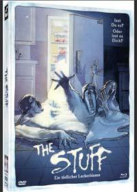 The Stuff - Ein tödlicher Leckerbissen (Limited Mediabook, Blu-ray+DVD) (1985) [Blu-ray]