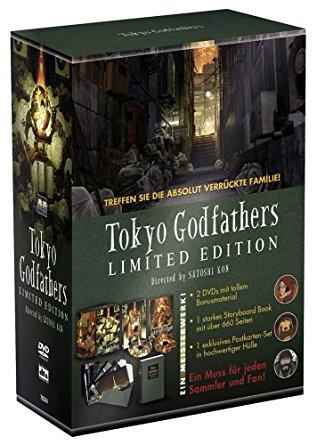 Tokyo Godfathers (Limited Edition, 2 DVDs) (2003) [Gebraucht - Zustand (Sehr Gut)]