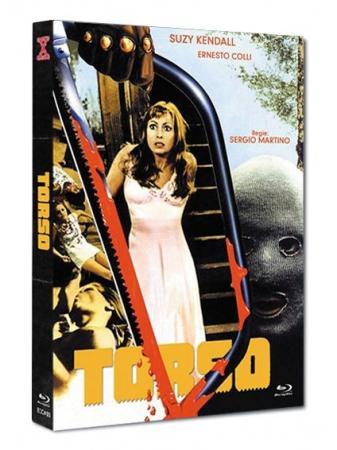 Die Säge des Teufels - Torso (Limited Mediabook, Blu-ray+DVD, Cover C) (1973) [FSK 18] [Blu-ray]