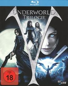Underworld - Trilogie (3 Disc Steelbook) [Blu-ray]