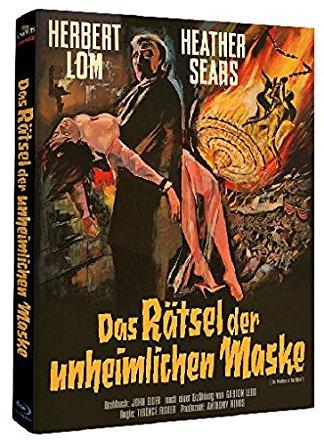 Das Rätsel der unheimlichen Maske (Limited Mediabook, Cover B) (1962) [Blu-ray]