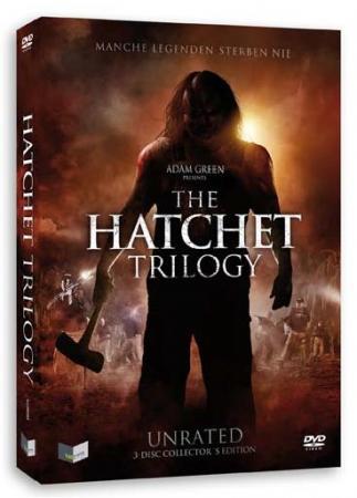 Hatchet Trilogy (Uncut 3 Disc Edition im Schuber) [FSK 18]