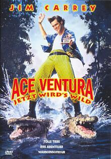 Ace Ventura - Jetzt wird's wild (1995) [Gebraucht - Zustand (Sehr Gut)]