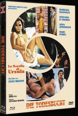Die Todesbucht (Limited Mediabook, Blu-ray+DVD, Cover B) (1978) [FSK 18] [Blu-ray]