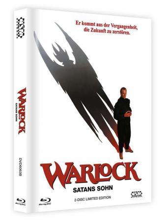 Warlock - Satans Sohn (2 Disc Limited Mediabook, Uncut, Cover B) (1989) [FSK 18] [Blu-ray]