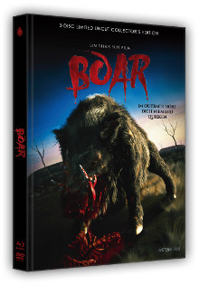 Boar (3 Disc Limited Mediabook, Blu-ray+DVD, Cover C) (2016) [FSK 18] [Blu-ray]