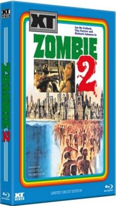 Woodoo - Die Schreckensinsel der Zombies (Kult-HD Hartbox, Limitiert auf 333 Stück, Cover B) (1979) [FSK 18] [Blu-ray]