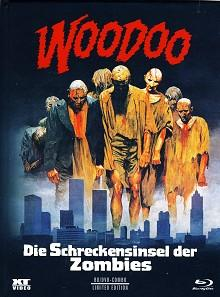 Woodoo - Die Schreckensinsel der Zombies (Mediabook, Blu-ray+DVD, Cover A) (1979) [FSK 18] [Blu-ray]