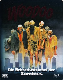Woodoo - Die Schreckensinsel der Zombies (Uncut, im Schuber) (1979) [FSK 18] [Blu-ray]
