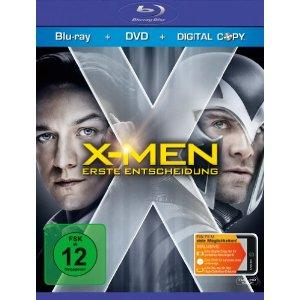 X-Men - Erste Entscheidung (+ DVD) (inkl. Wendecover, Digital Copy) (2011) [Blu-ray]