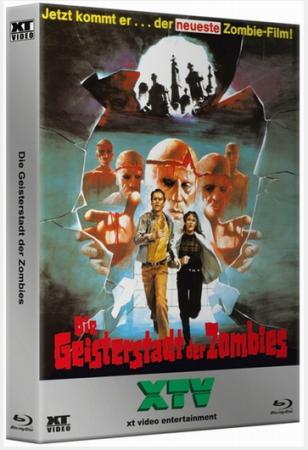 Die Geisterstadt der Zombies (Kult HD Box) (1981) [FSK 18] [Blu-ray]