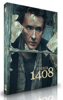 Zimmer 1408 (4 Disc Limited Mediabook, Cover A) (2007) [Blu-ray]