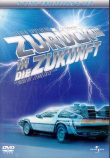 Zurück in die Zukunft (Collector's Set, 4 DVDs, Digipak)