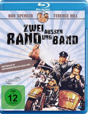 Zwei außer Rand und Band (Limited Edition im Schuber) (1977) [Blu-ray] [Gebraucht - Zustand (Sehr Gut)]