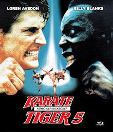 Karate Tiger 5 - König der Kickboxer (Uncut) (1990) [FSK 18] [Blu-ray]