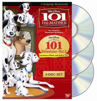 101 Dalmatiner - Die ultimative Dalmatiner-Collection (3 DVDs)