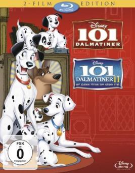 101 Dalmatiner / 101 Dalmatiner II: Auf kleinen Pfoten zum großen Star! [Blu-ray]
