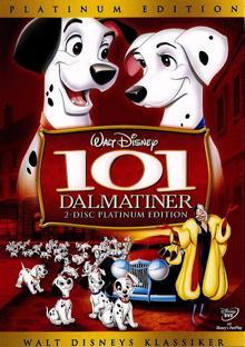 101 Dalmatiner (Platinum Edition, 2 DVDs) (1961)