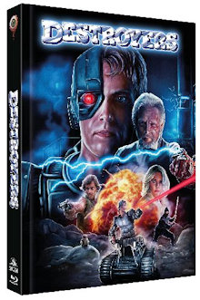 Destroyers (Limited Mediabook, Blu-ray+DVD, Cover C) (1986) [Blu-ray]