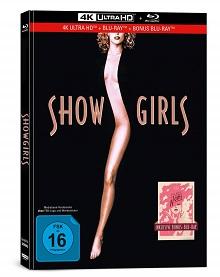 Showgirls (Limited Mediabook, 4K Ultra HD+2 Blu-ray's)) (1995) [4K Ultra HD]