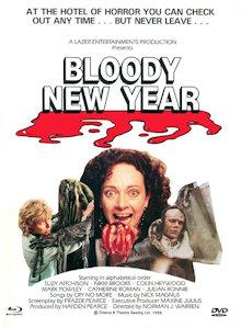 Bloody New Year (Limited Mediabook, Blu-ray+DVD, Cover B) (1987) [FSK 18] [Blu-ray]