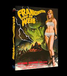 Frankenstein schuf ein Weib (Limited Mediabook, Cover A) (1967) [Blu-ray]