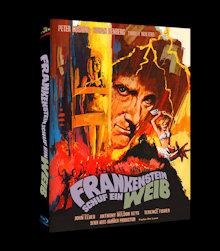 Frankenstein schuf ein Weib (Limited Mediabook, Cover C) (1967) [Blu-ray]